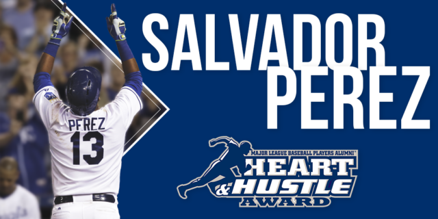 Salvador Perez Heart and Hustle